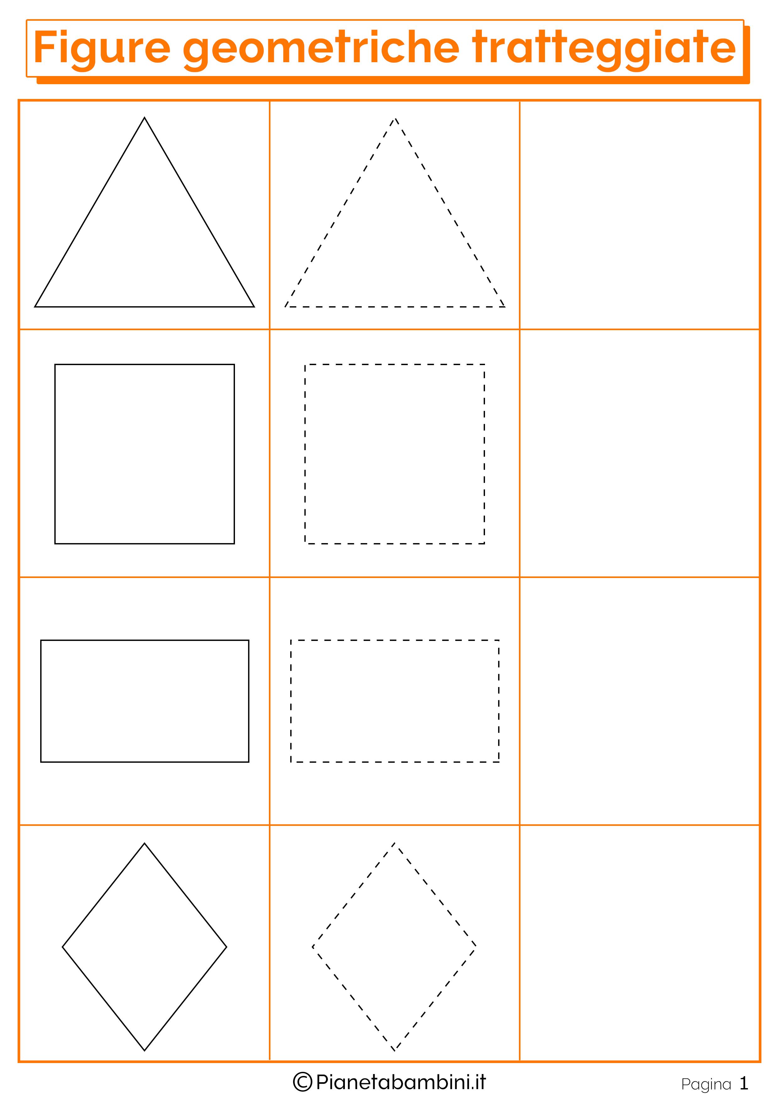 Imparare a disegnare le figure geometriche con i disegni