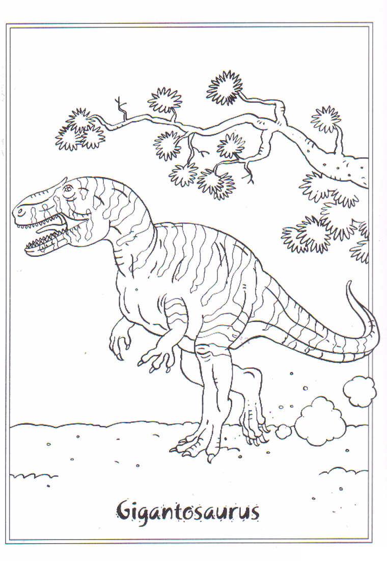 42 Disegni Di Dinosauri Da Colorare Pianetabambini It