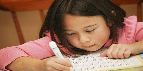 Imparare a scrivere le lettere dell'alfabeto