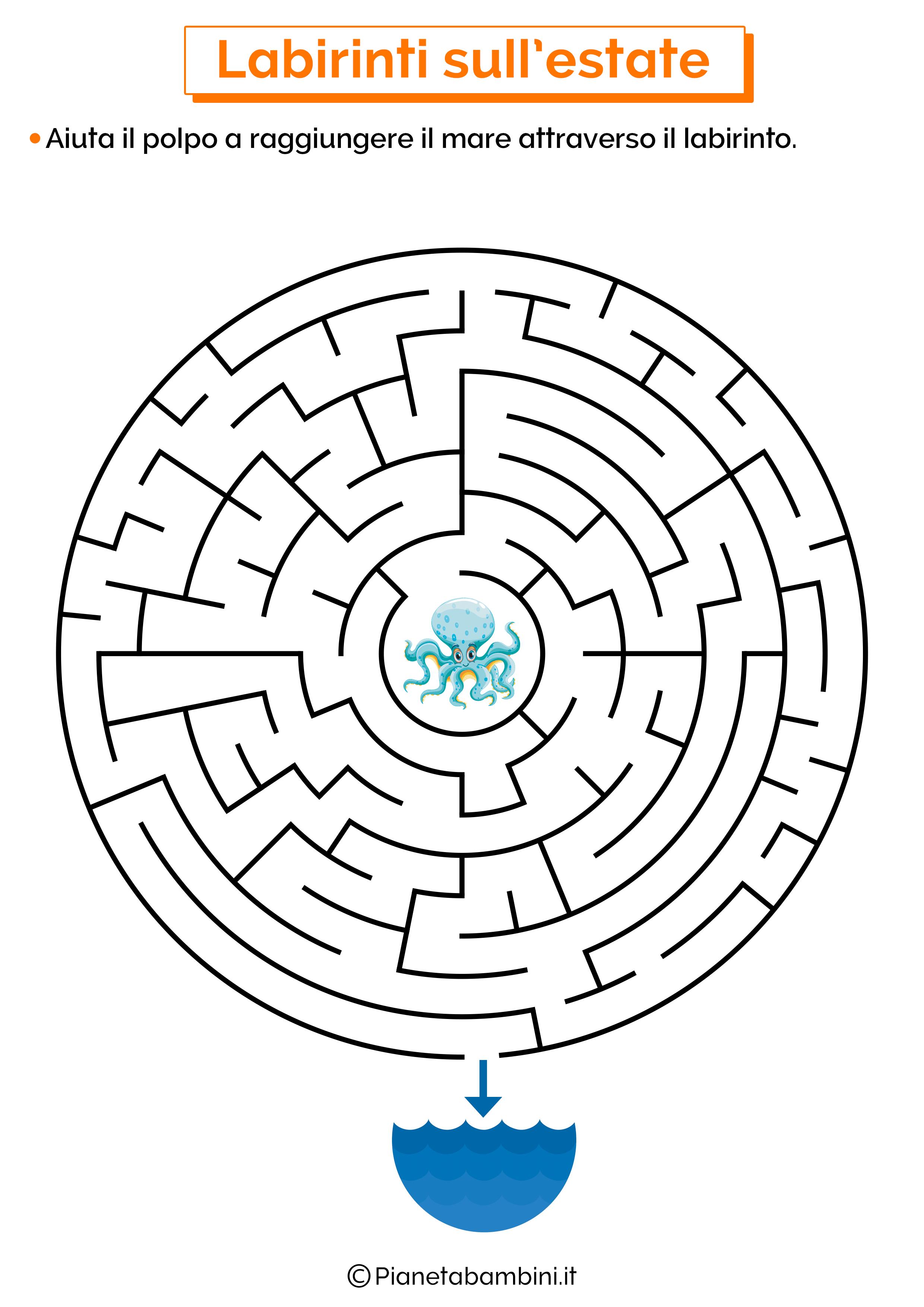 Labirinto sull'estate 01