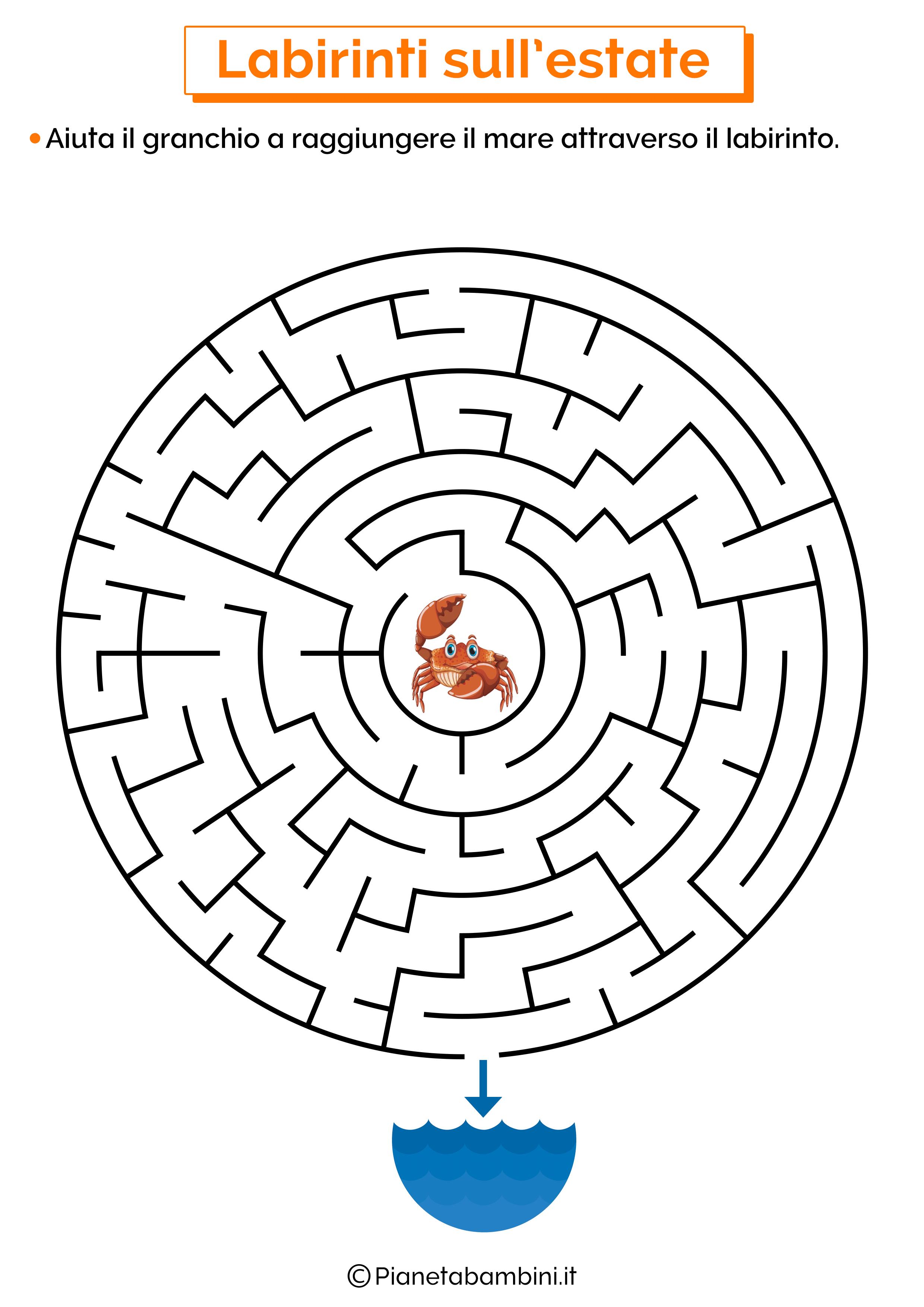 Labirinto sull'estate 02