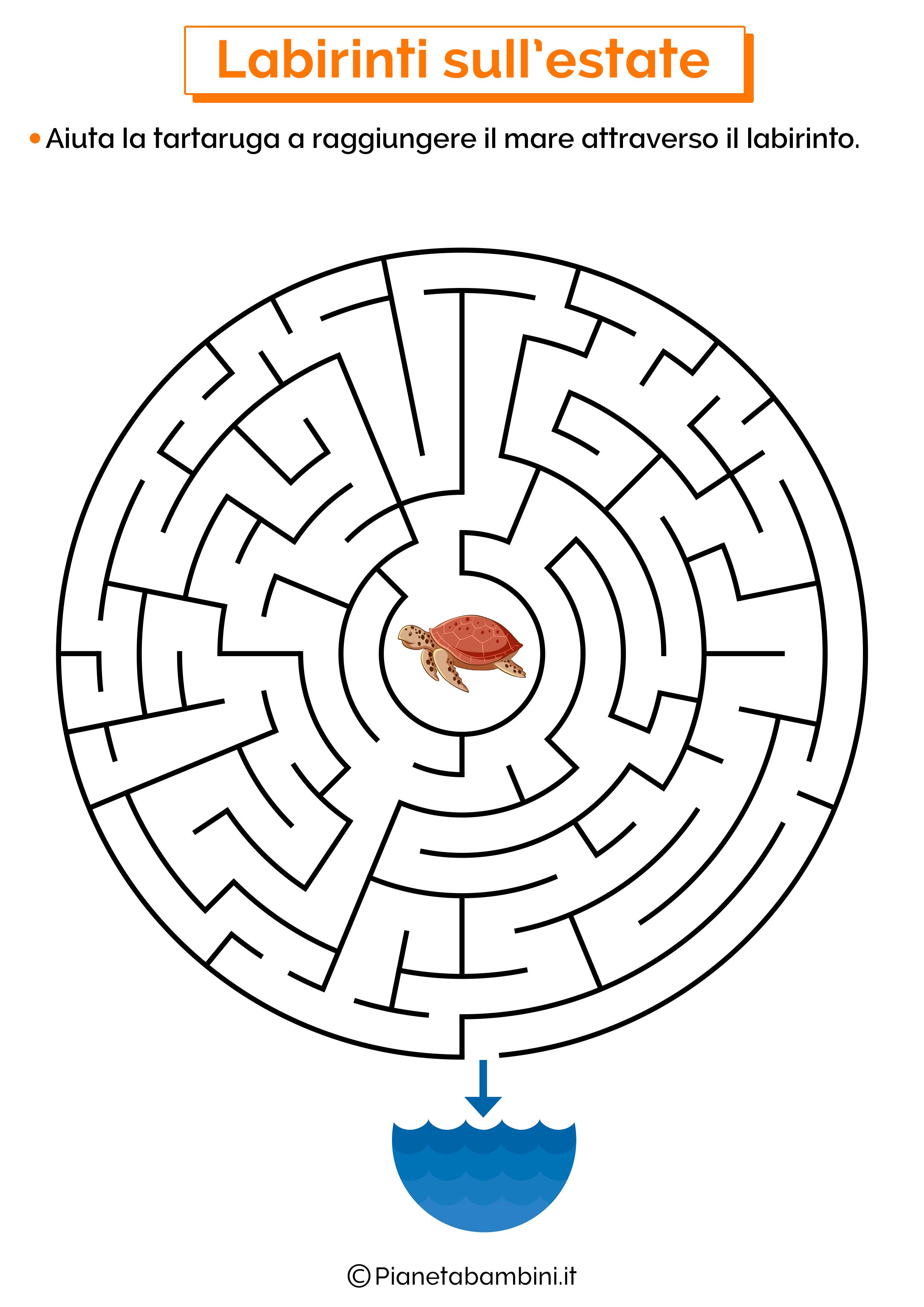 Labirinto sull'estate 07