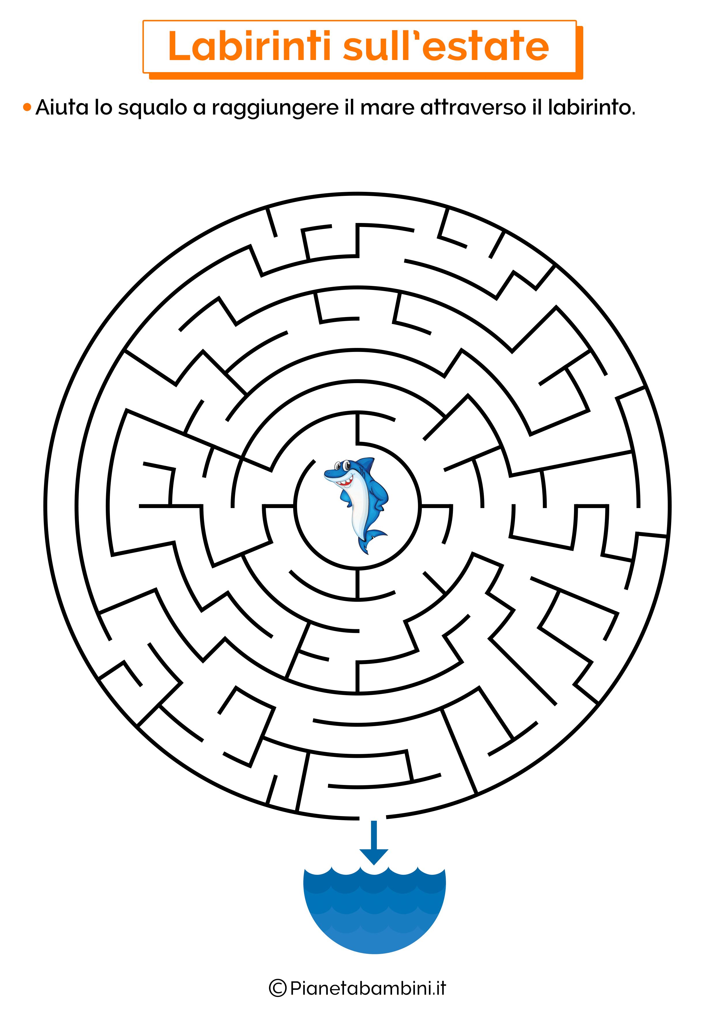 Labirinto sull'estate 10