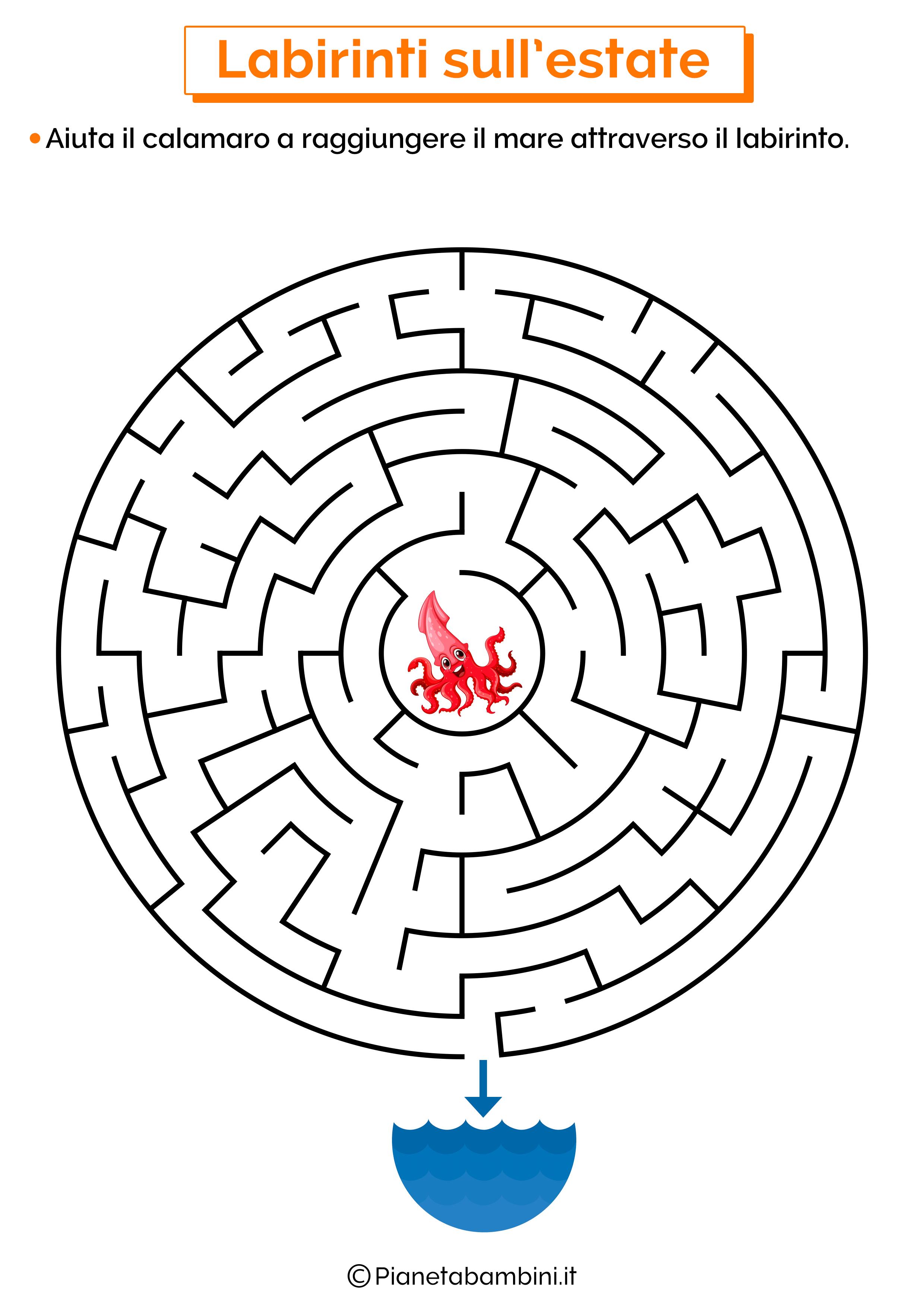 Labirinto sull'estate 12