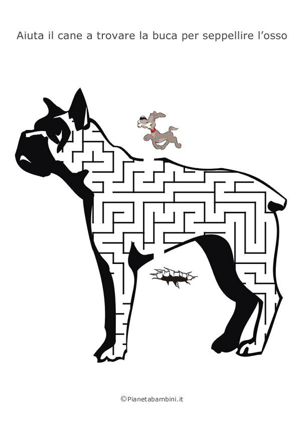 Labirinto a forma di cane boxer