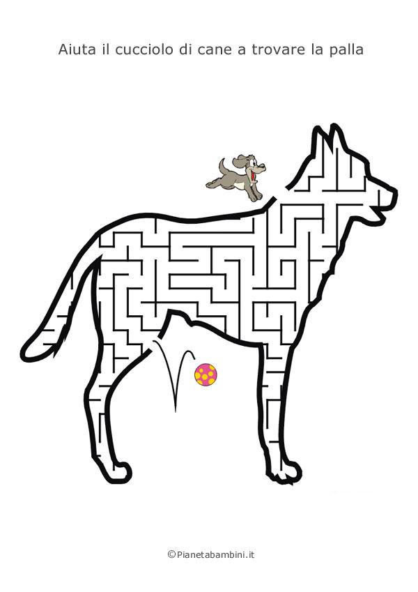 Labirinto a forma di cane