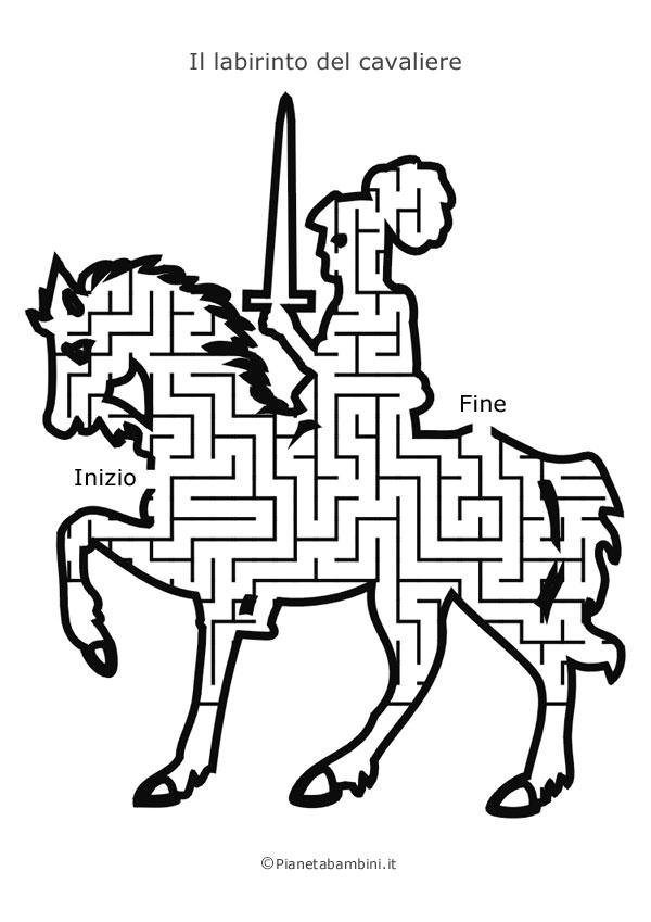 Labirinto a forma di cavaliere