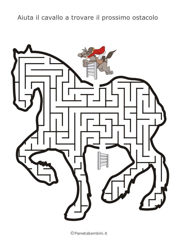 Labirinti per bambini dedicati agli animali