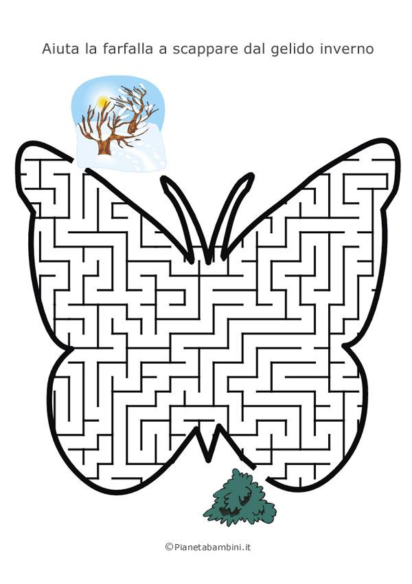 Labirinto a forma di farfalla