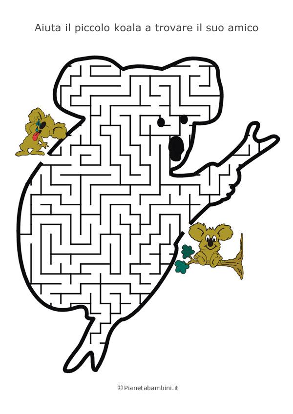 Labirinto a forma di koala