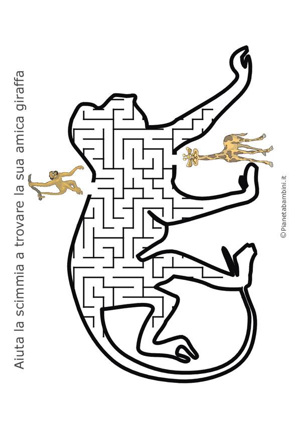 Labirinto-Scimmia-Giraffa