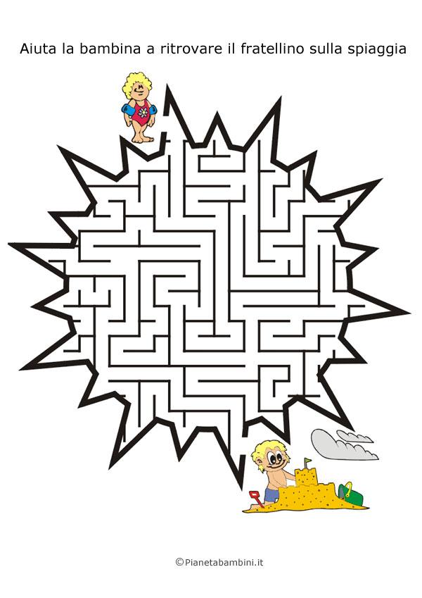 Labirinto a forma di sole