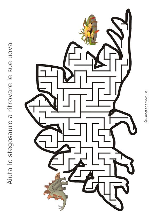 Labirinto a forma di stegosauro