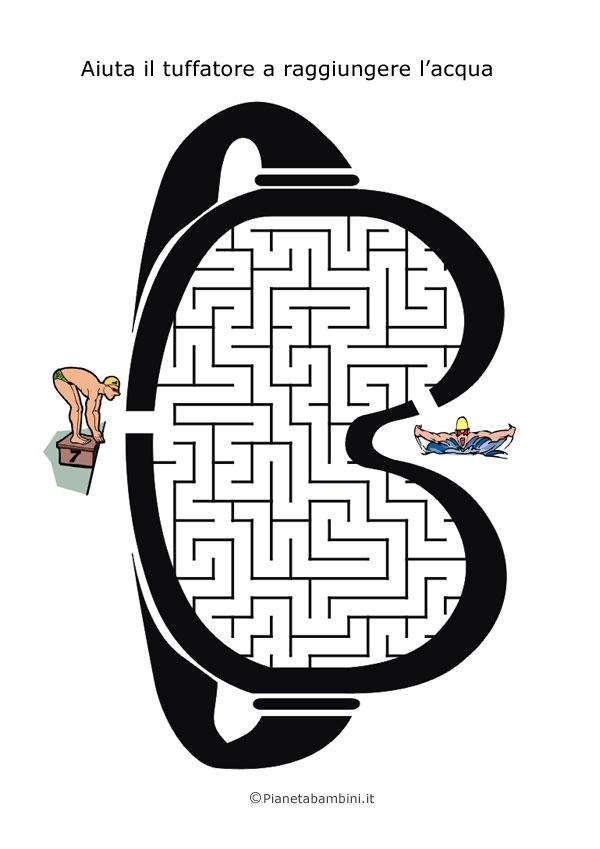 Labirinto a forma di maschera