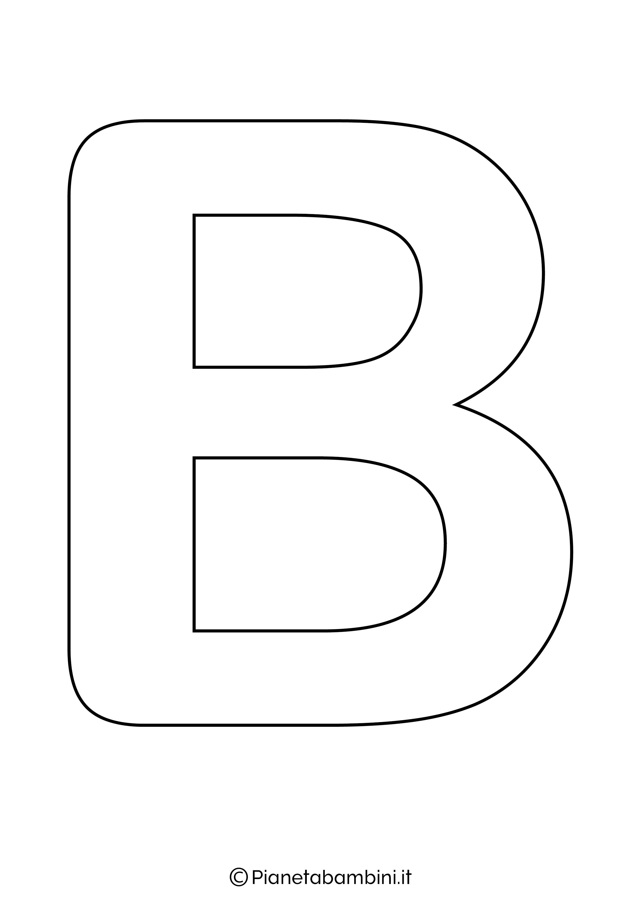 Lettere Dell Alfabeto Da Stampare Colorare E Ritagliare Pianetabambini It