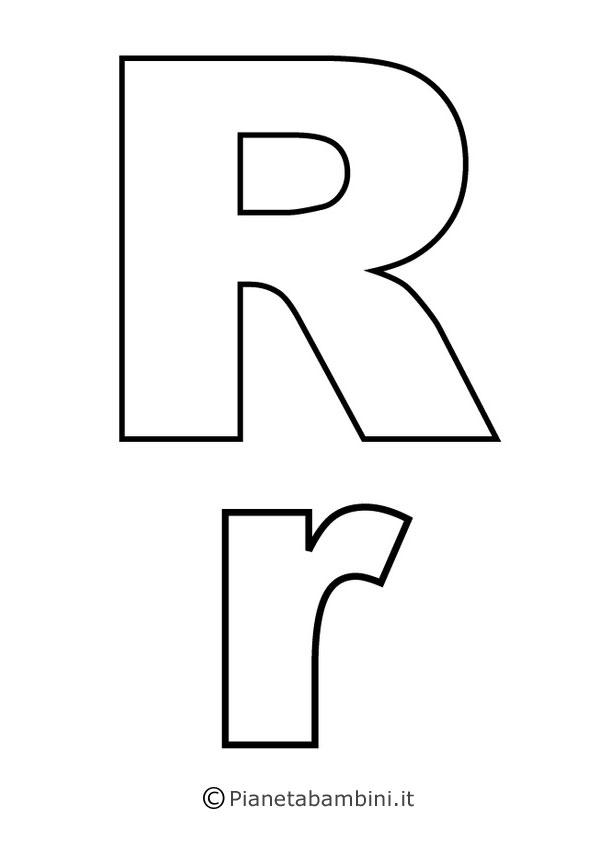 Lettere dell 39 alfabeto da stampare colorare e ritagliare - Lettere stampabili di medie dimensioni ...