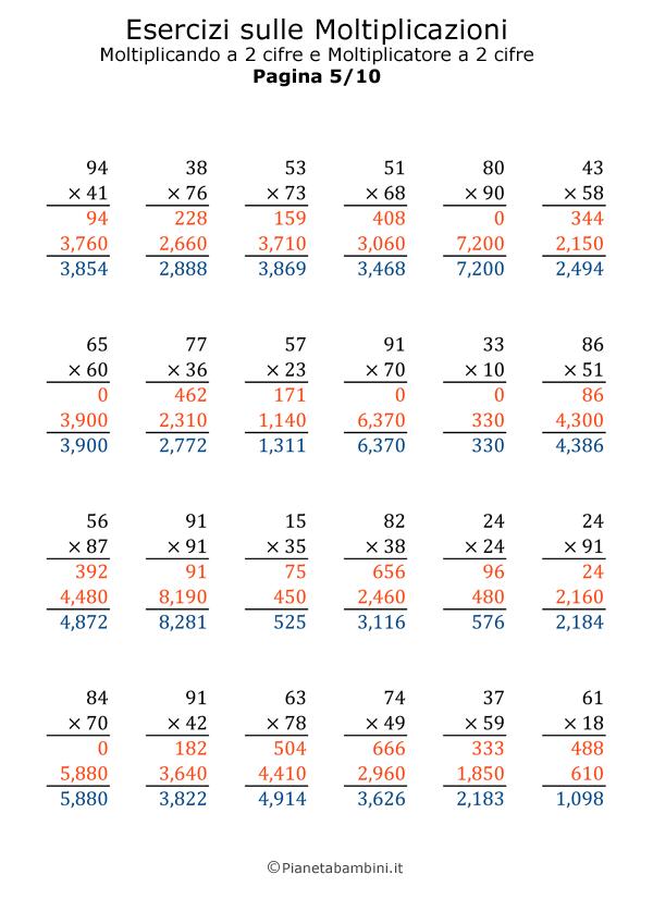 Moltiplicazioni-2X2_5-Soluzioni