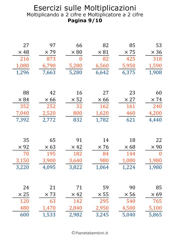 Moltiplicazioni-2X2_9-Soluzioni