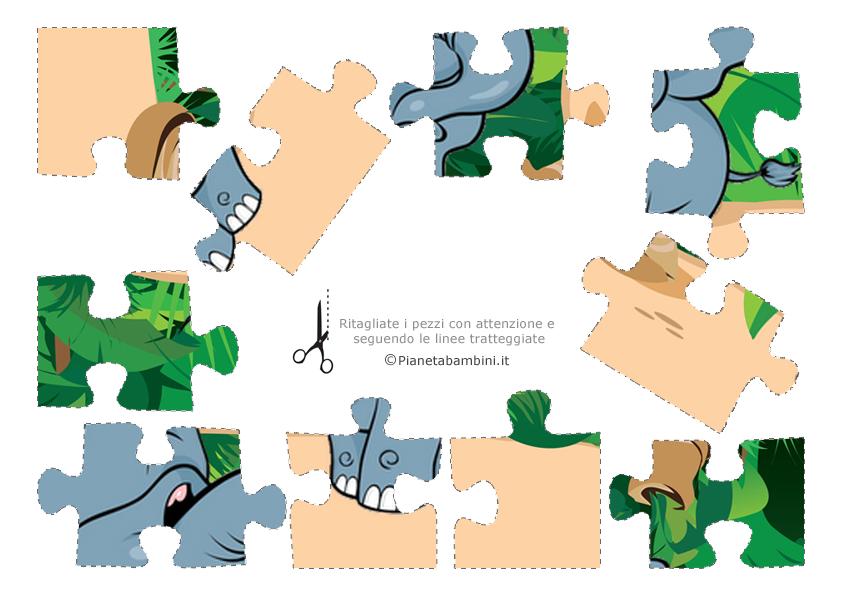 Pezzi puzzle 1 - 10