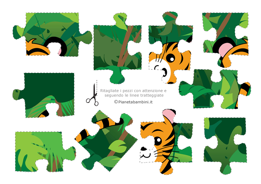 Pezzi puzzle 11 - 20