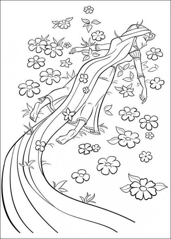 32 Disegni Da Colorare Di Rapunzel Pianetabambini It
