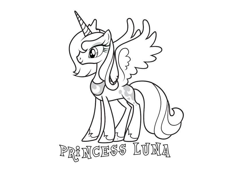 Disegni Da Colorare Gratis My Little Pony.Disegni Da Colorare Di My Little Pony L Amicizia E Magica