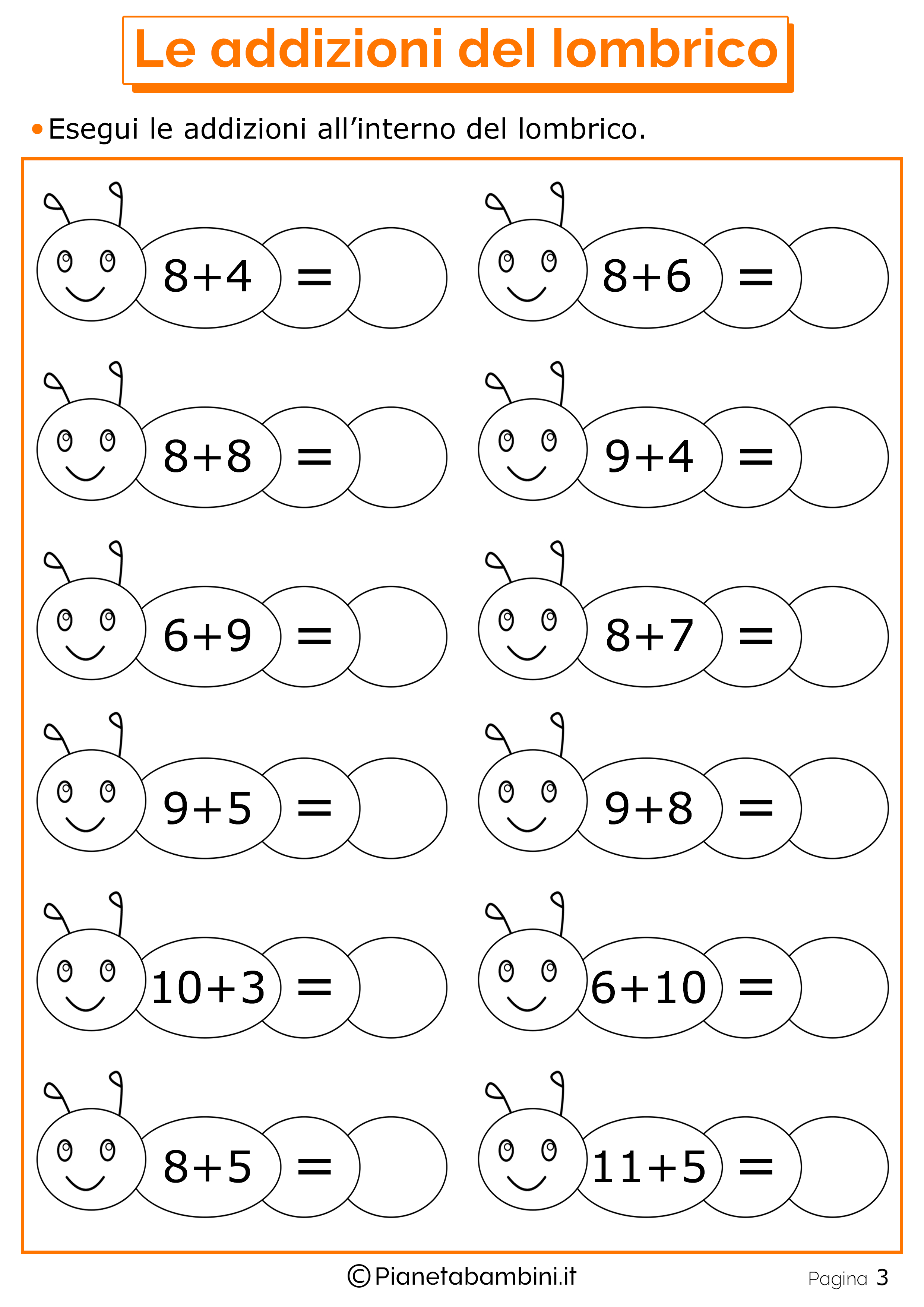 Disegni Da Colorare Di Matematica Bimbi 5 Anni Migliori Pagine Da