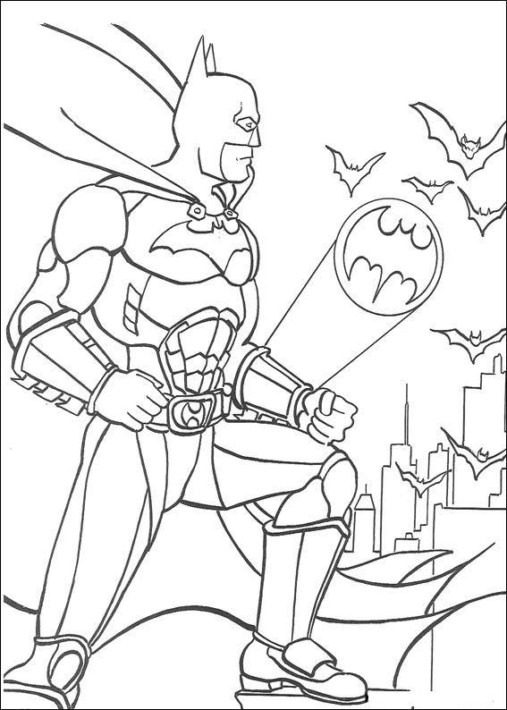42 disegni di batman da stampare e colorare - Dessins de batman ...