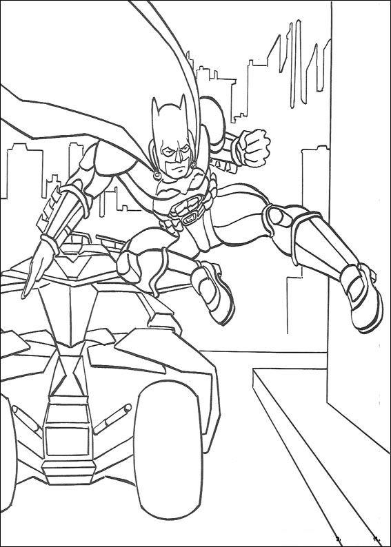 42 disegni di batman da stampare e colorare - Auto cool alle pagine da colorare ...