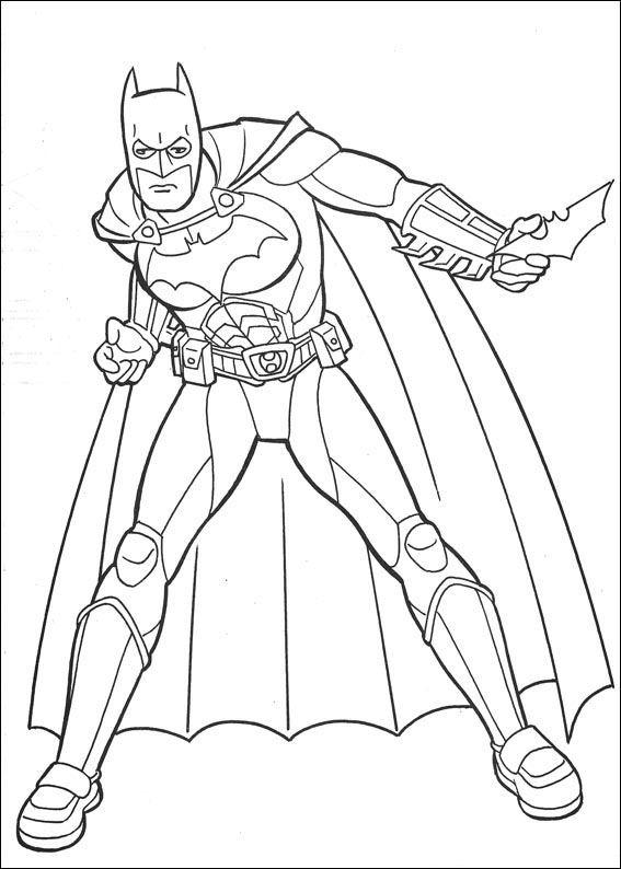 42 Disegni Di Batman Da Stampare E Colorare Pianetabambini It