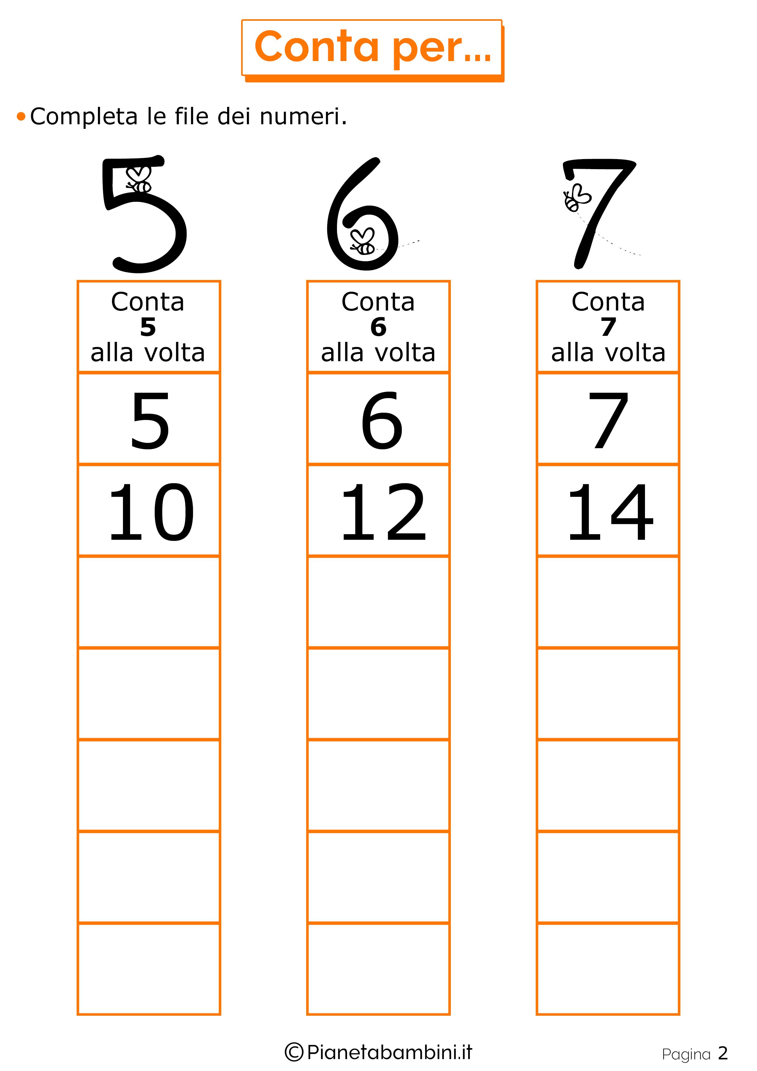 Giochi di matematica per bambini di 6 7 anni da stampare - Numero di fogli di lavoro per bambini ...