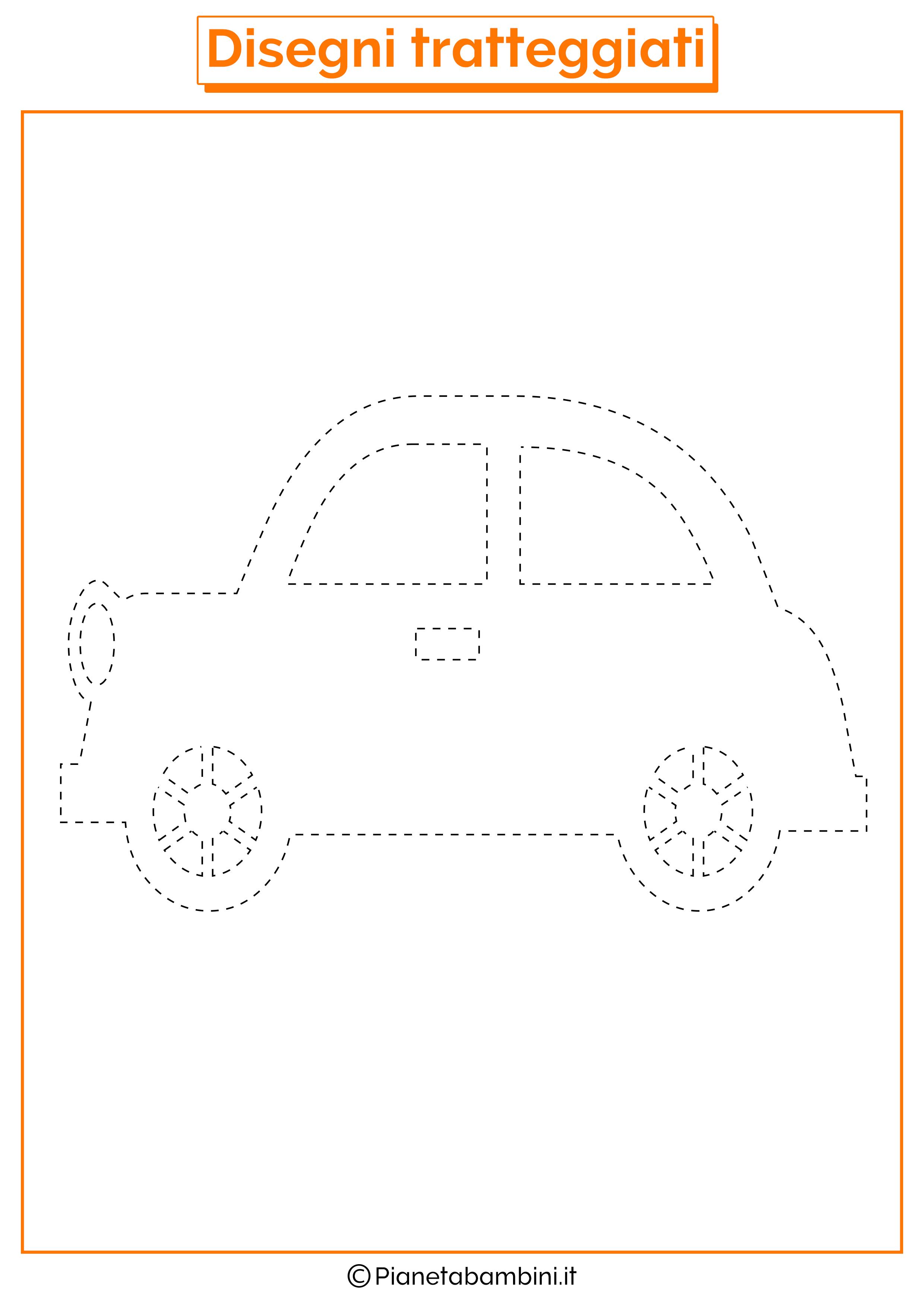 Disegni-Tratteggiati-Automobile