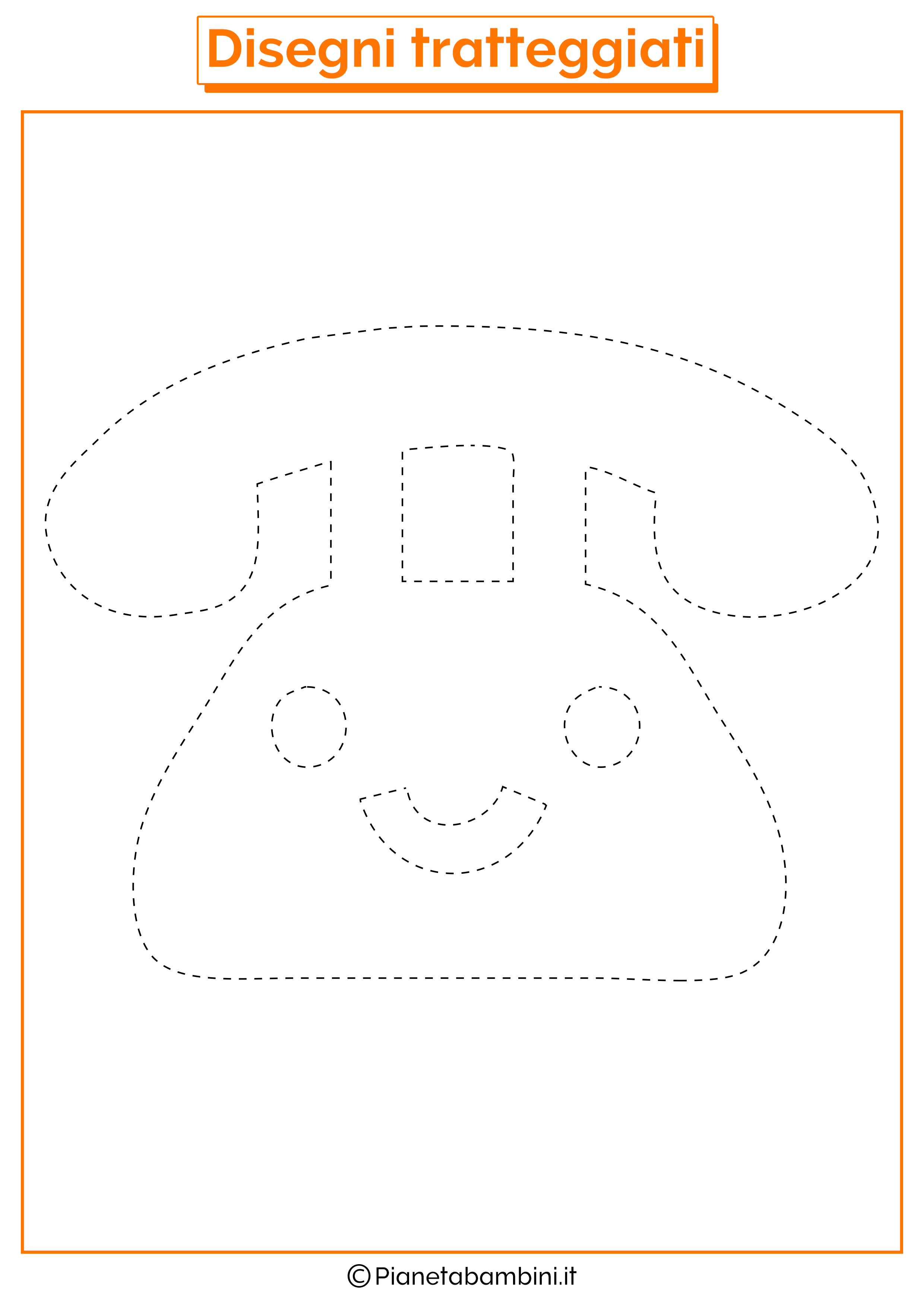 Scheda di pregrafismo telefono