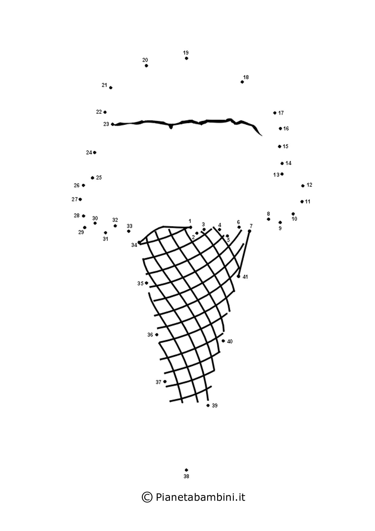 disegno di gelato da stampare