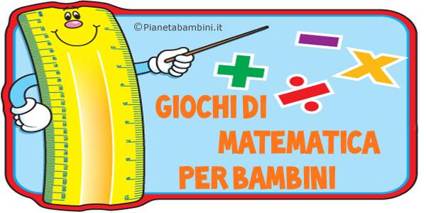 Giochi di matematica per bambini di 6-7 anni