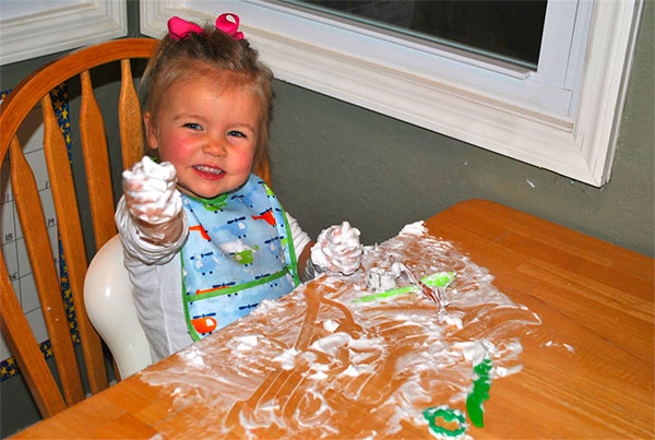 Gioco della schiuma per bambini