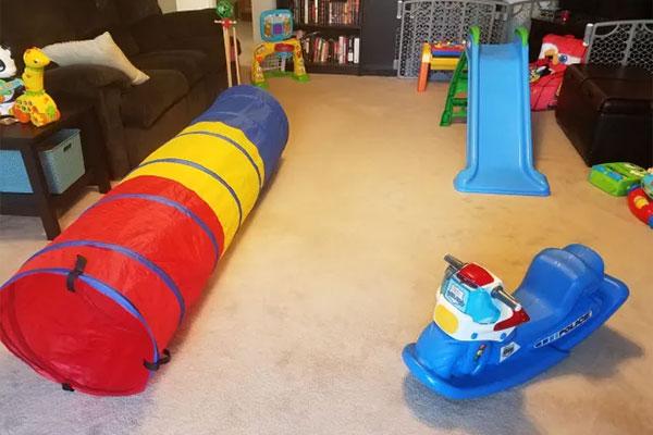 Percorso ad ostacoli per bambini