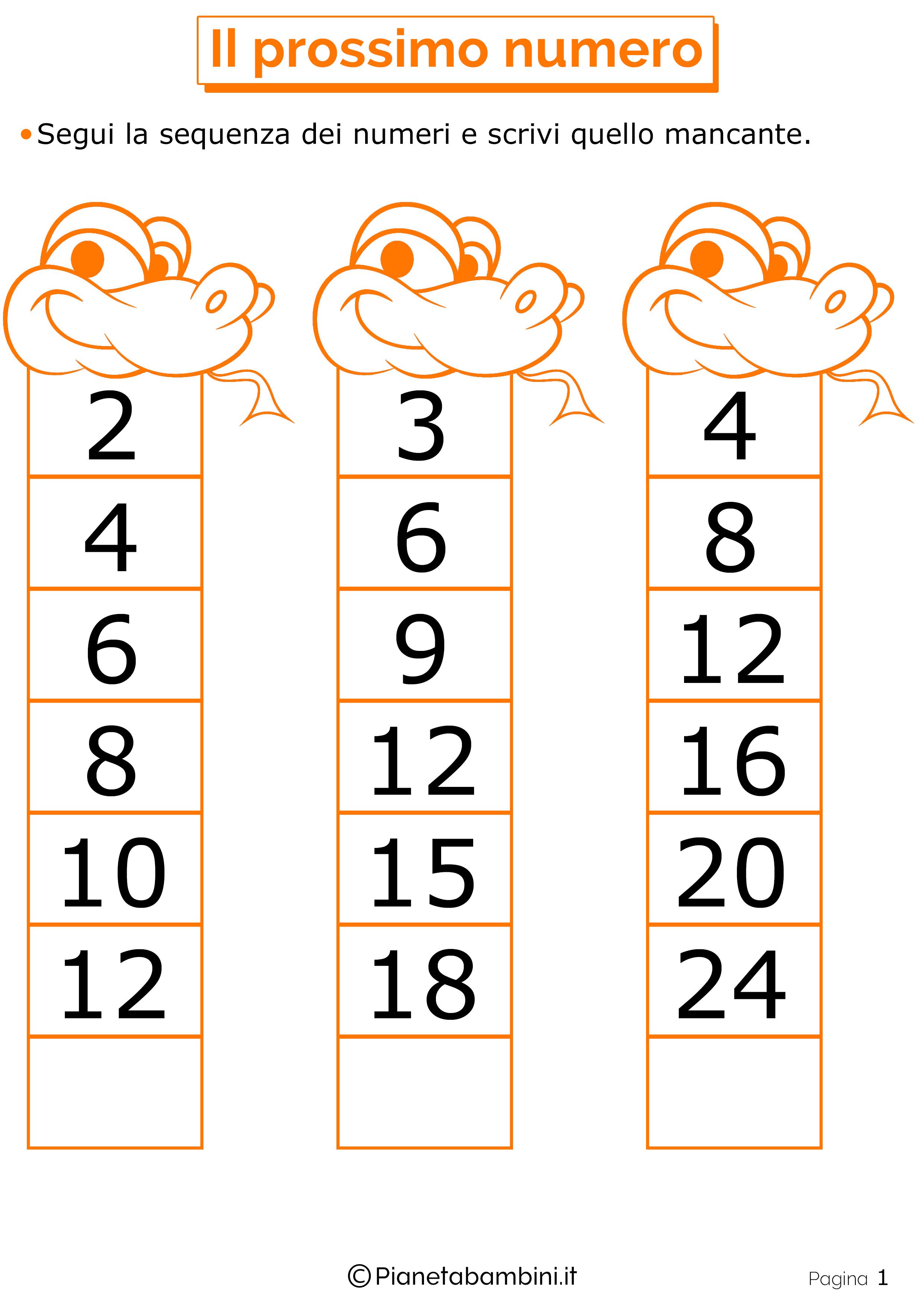 Giochi di Matematica per Bambini di 6-7 Anni da Stampare ...
