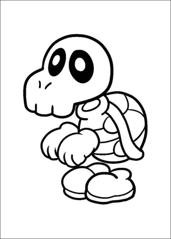 47 disegni da colorare di super mario bros for Disegni da colorare super mario bros