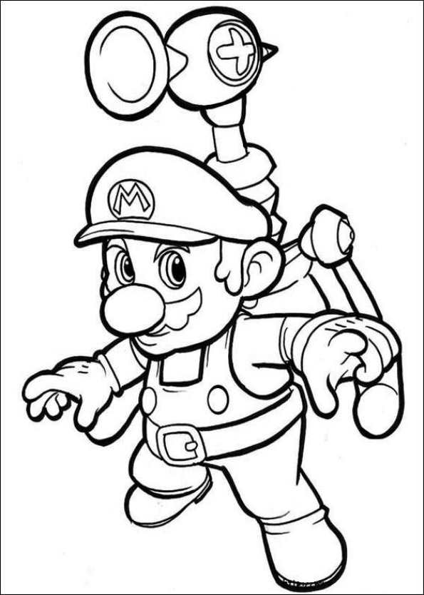 47 Disegni Da Colorare Di Super Mario Bros Pianetabambini It