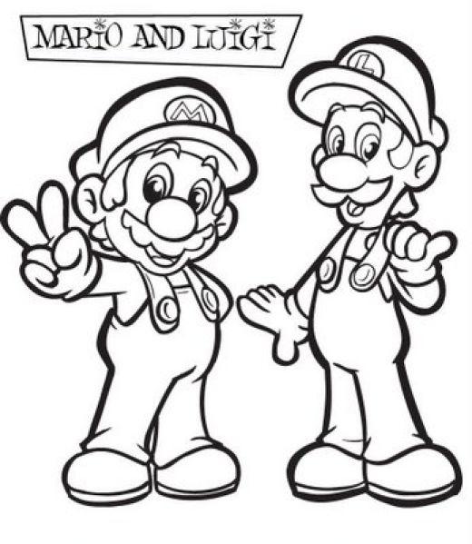 47 Disegni Da Colorare Di Super Mario Bros Pianetabambini It