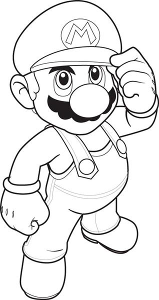47 Disegni Di Super Mario Bros Da Colorare Pianetabambini It