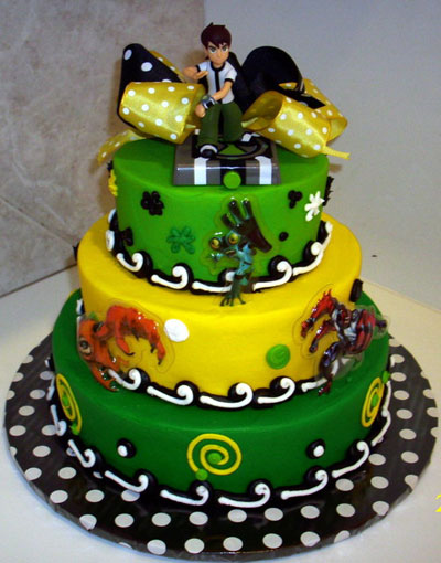 Foto della torta di Ben Ten