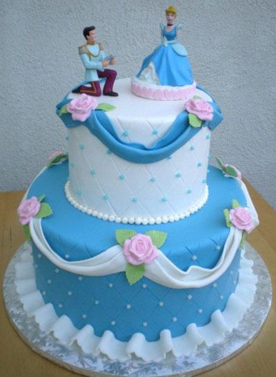 Foto della torta di Cenerentola