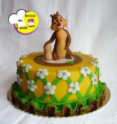 Foto della torta di Chip e Chop