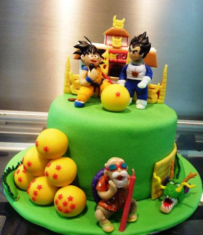 Foto della torta di Dragon Ball