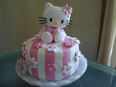 Foto della torta di Hello Kitty
