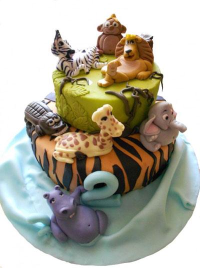Foto della torta di Madagascar