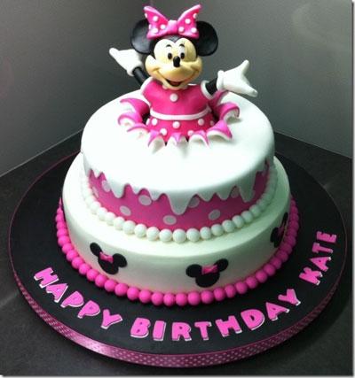Foto della torta di Minnie