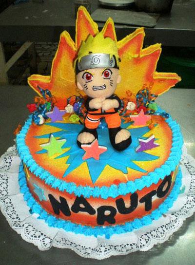 Foto della torta di Naruto